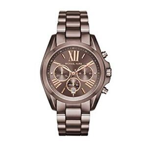 Michael Kors Oversized Bradshaw Watch In Sable